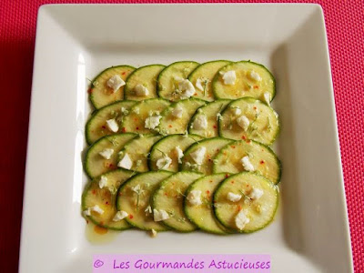 Comment faire un Carpaccio de courgette ?