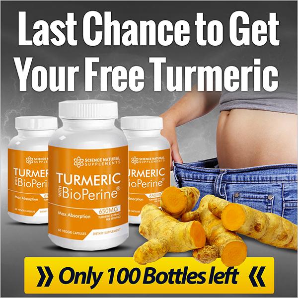 Turmeric BioPerine - Free + Shipping (INTL)