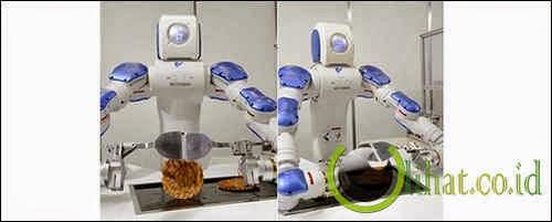 Robot Motoman ( Pandai Memasak Okonomiyaki )