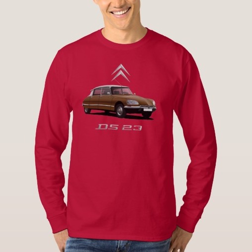 CItroën DS 23  t-shirt brown