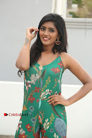 Actress Eesha Latest Pos in Green Floral Jumpsuit at Darshakudu Movie Teaser Launch .COM 0038.JPG