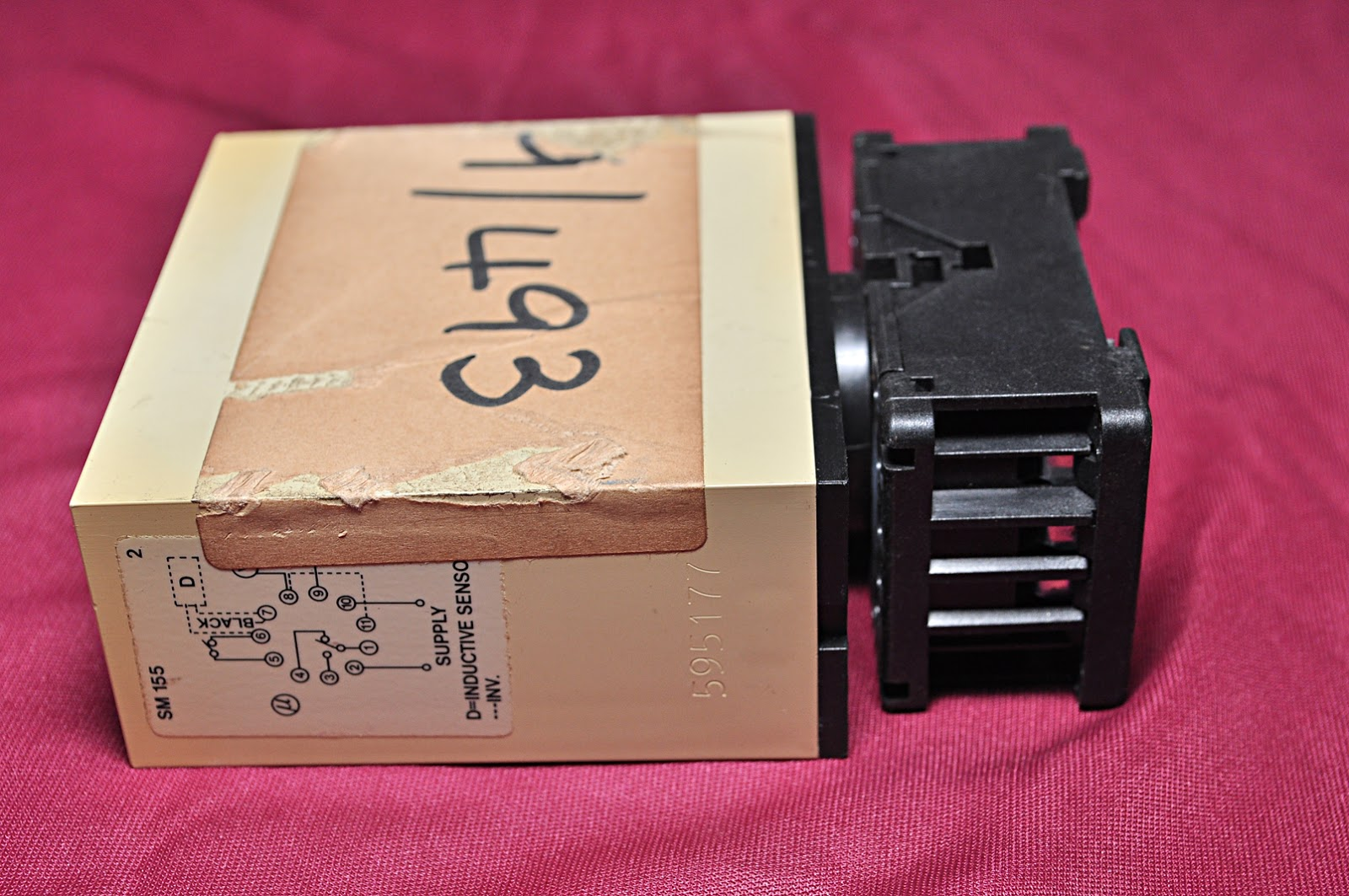 Electromatic Carlo Gavazzi Sm 155 230 Tachometer Relay Aeliya Powertronixinductor1jpg 10a 380 Vac Mat 478984 Group 0308 Desc Proximity Sensor Manf Cochran Ltd Part 6695 10 Made In Denmark Condition New 1 Pcs Ref 2201