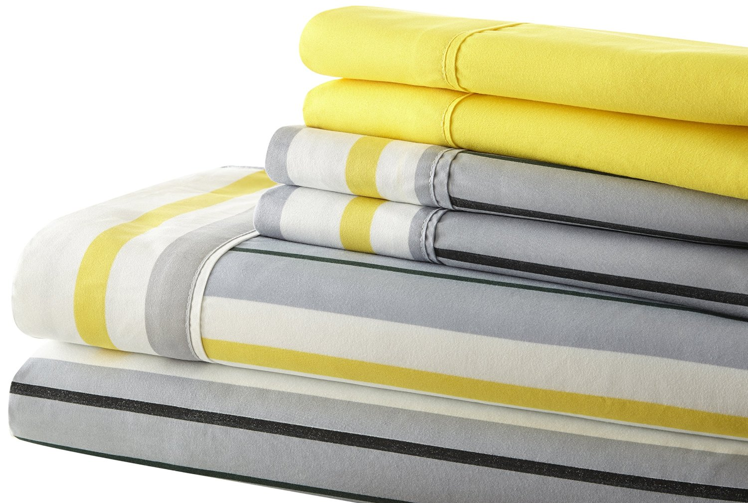 100 yellow and grey bed linen bedding set dark grey and yel