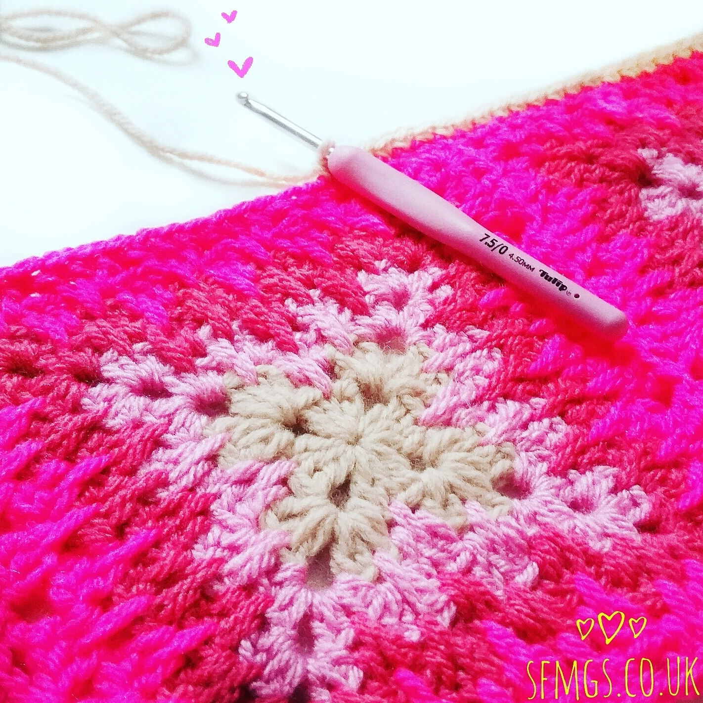 Set Free My Gypsy Soul | a Crochet Craft blog : Stabby Granny CAL