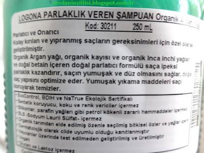 Logona-Organik-Parlaklık-veren-Argan-Yağlı şampuan