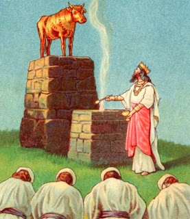 golden calf worship