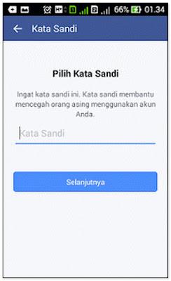 Mendaftar Facebook Baru Lewat Hp Android