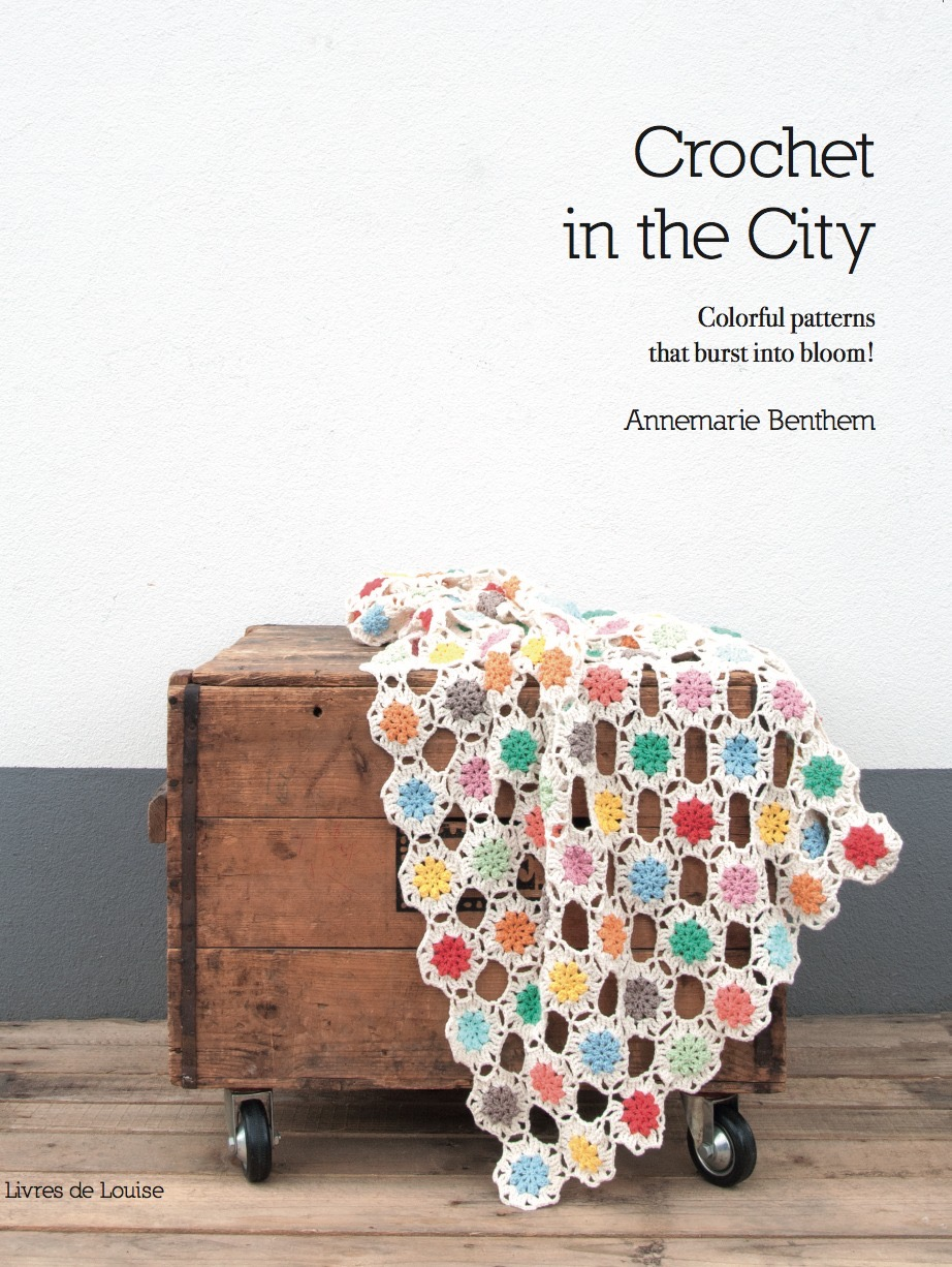 MY BOOK: CROCHET IN THE CITY!