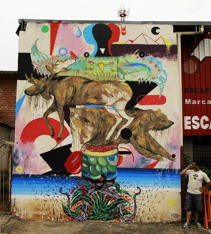 Уличный художник. Zeh Palito 25