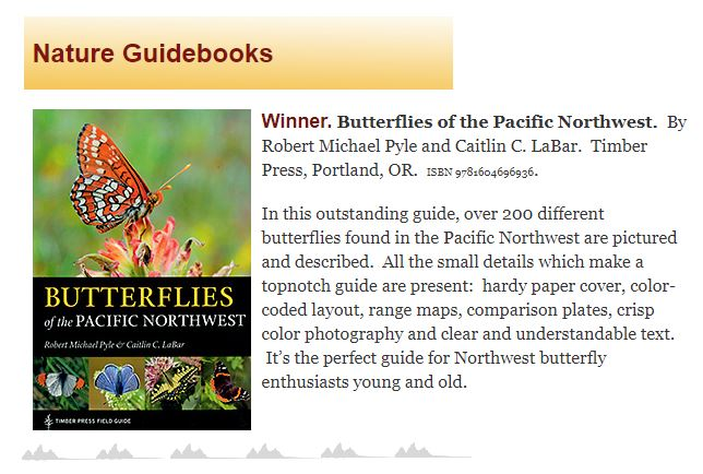insects of the pacific northwest timber press field guide