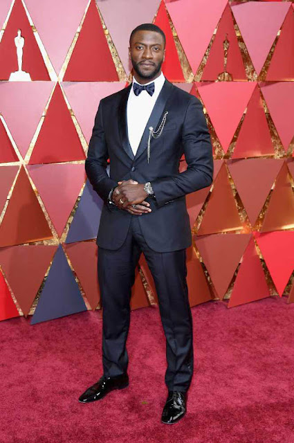 Aldis Hodge at 89th Annual Academy Awards