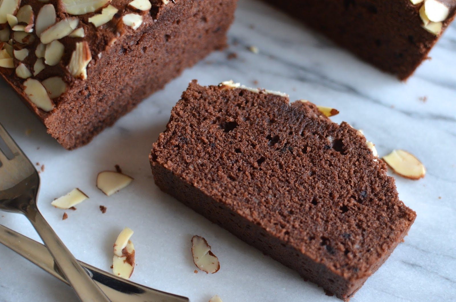 Playing With Flour Cocoa Marzipan Loaf Cake