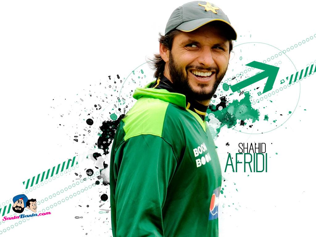 6 Shahid Afridi Hd Desktop // Background // Wallapepr Free