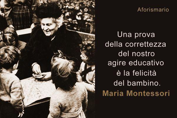 Frasi Montessori Sui Bambini