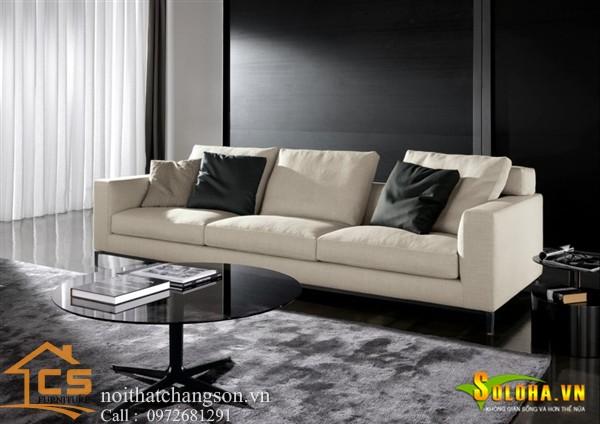 Sofa bền đẹp - giá rẻ sản xuất tại xưởng Nội Thất Chàng Sơn: Sofa đẹp 4