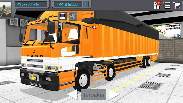 Mod Fuso Untuk BUSSID Android