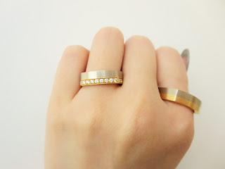 FURRERJACOT フラージャコー マリッジリング 結婚指輪 ゴールド ダイヤ 四角 鍛造