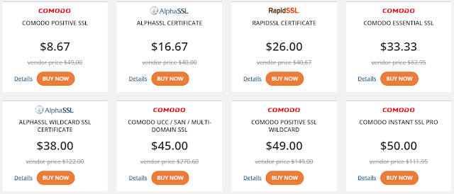 ssl pricing
