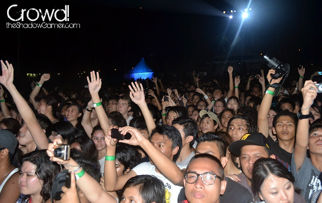 the crowd at Rockaway Festival 2011