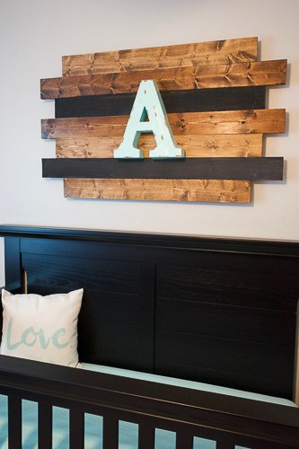 nursery decor rustic wood