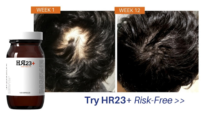HR23+ hair growth products