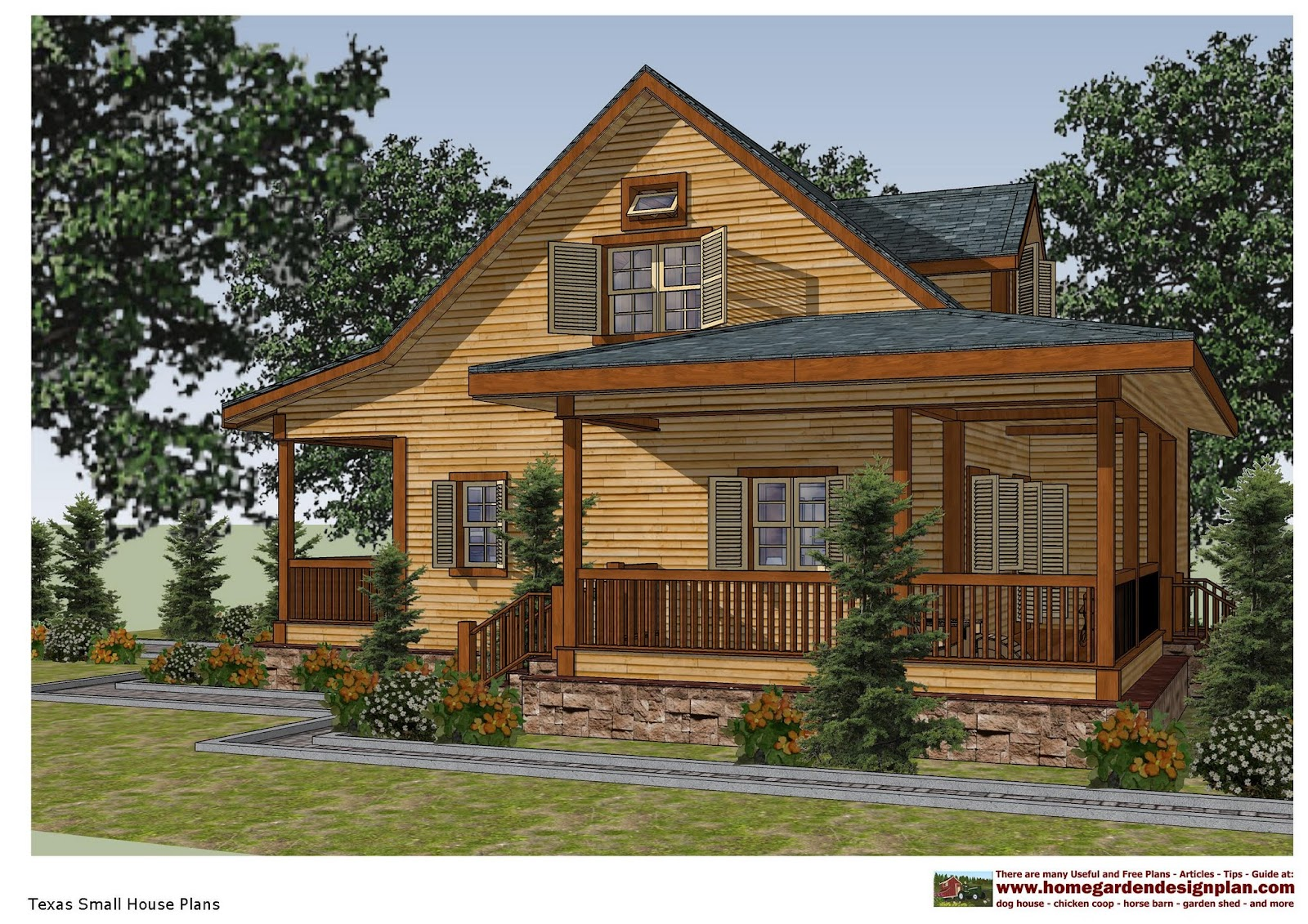 Home Garden Plans Sh100 Small House Plans Small House