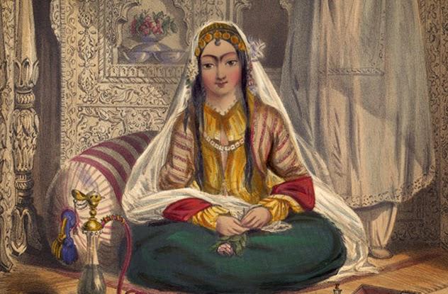 Femrat myslimane dikur ishin të zbuluara