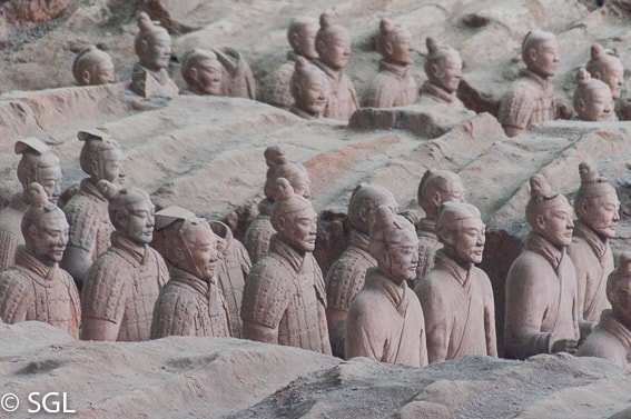 Guerreros de Terracota Fosa 1. Visitando Xian