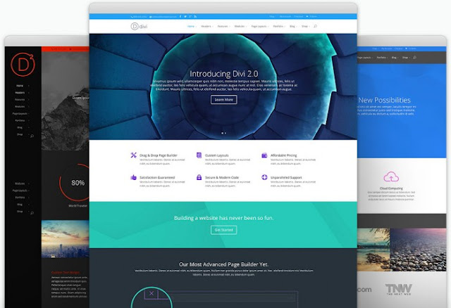 Download Divi WordPress Corporate Theme