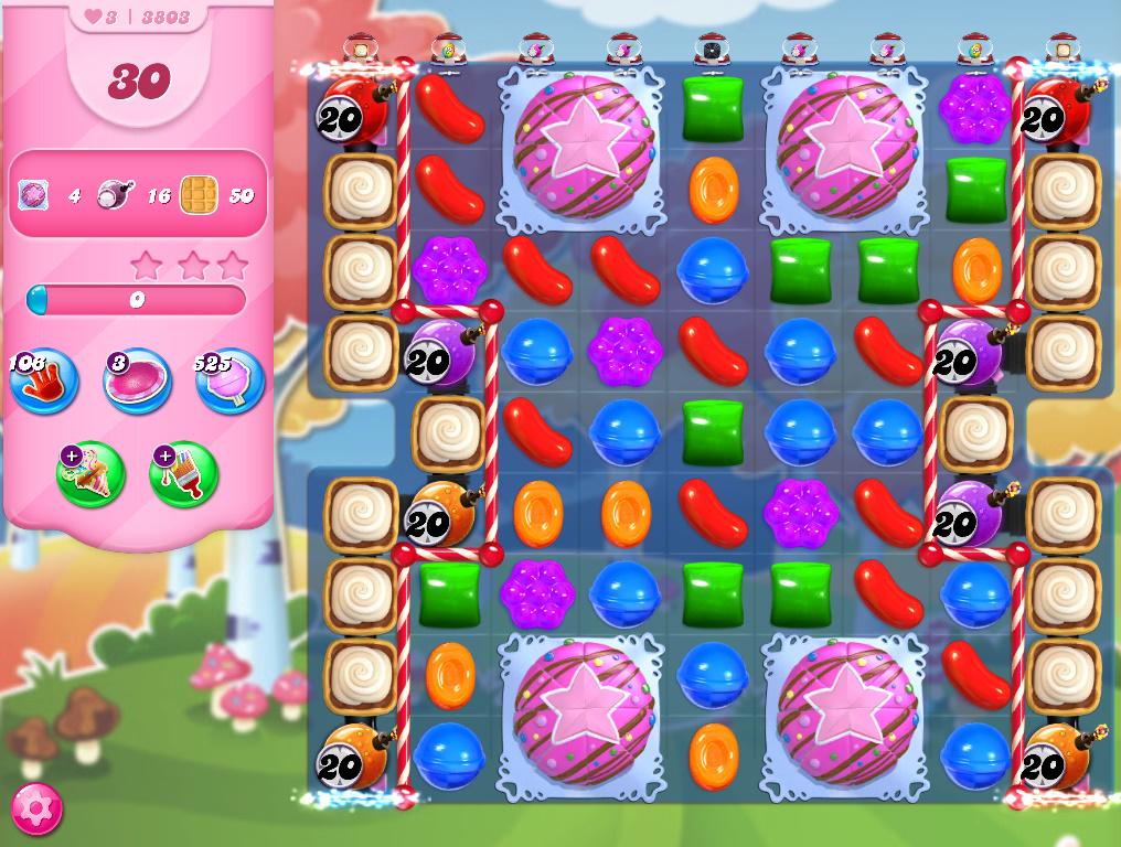 Candy Crush Saga level 3803