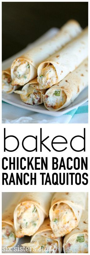 BAKED CHICKEN BACON RANCH TAQUITOS #BAKED #CHICKEN #BACON #RANCH #TAQUITOS #DESSERTS #HEALTHYFOOD #EASY_RECIPES #DINNER #LAUCH #DELICIOUS #EASY #HOLIDAYS #RECIPE #SPECIAL_DIET #WORLD_CUISINE #CAKE #GRILL #APPETIZERS #HEALTHY_RECIPES #DRINKS #COOKING_METHOD #ITALIAN_RECIPES #MEAT #VEGAN_RECIPES #COOKIES #PASTA #FRUIT #SALAD #SOUP_APPETIZERS #NON_ALCOHOLIC_DRINKS #MEAL_PLANNING #VEGETABLES #SOUP #PASTRY #CHOCOLATE #DAIRY #ALCOHOLIC_DRINKS #BULGUR_SALAD #BAKING #SNACKS #BEEF_RECIPES #MEAT_APPETIZERS #MEXICAN_RECIPES #BREAD #ASIAN_RECIPES #SEAFOOD_APPETIZERS #MUFFINS #BREAKFAST_AND_BRUNCH #CONDIMENTS #CUPCAKES #CHEESE #CHICKEN_RECIPES #PIE #COFFEE #NO_BAKE_DESSERTS #HEALTHY_SNACKS #SEAFOOD #GRAIN #LUNCHES_DINNERS #MEXICAN #QUICK_BREAD #LIQUOR
