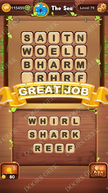 Word Bright Level 79 Answers, Cheats, Solutions, Walkthrough for android, iphone, ipad and ipod