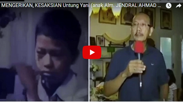 Video Kesaksian Anak Jendral Ahmad Yani: Kami Nggak Terima, Kejadian Ini Tak Akan Kami Lupakan