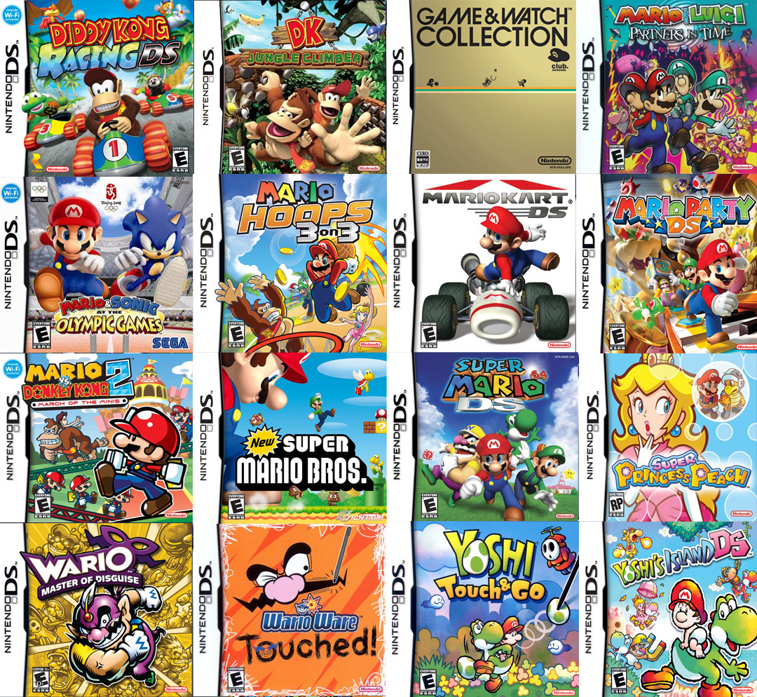 nintendo 3ds list of games, | nintendo info