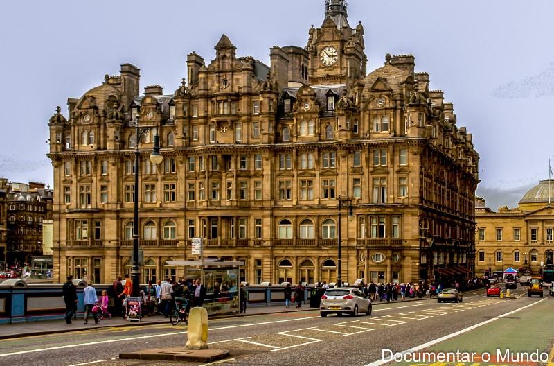Hotel Balmoral; Edimburgo