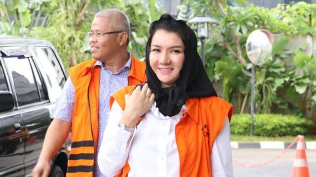 KPK Cari Tahu soal Jet Pribadi Bupati Kukar Nonaktif Rita Widyasari