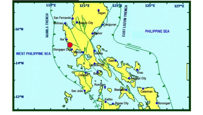 Magnitude 5.5 earthquake shakes Metro Manila, Luzon areas on May 25, 2017