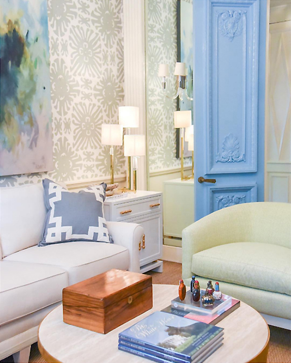 Interiors by jacquin blue print store tour luxury home furnishings blue print has maximized their space by refreshing the homes original details and maintaining its historic charm beautiful decorative molding and ornate malvernweather Images