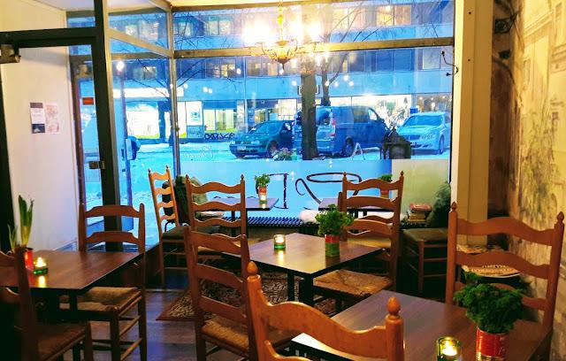 Italian type Coffee House in Oulu Finland