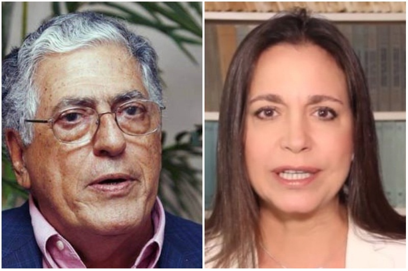 El Viejo Decrépito de Rafael Poleo ofendió a María Corina Machado