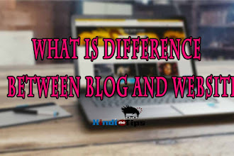 What Is The Difference Between Blog And Website?ब्लॉग और वेबसाइट में अंतर?