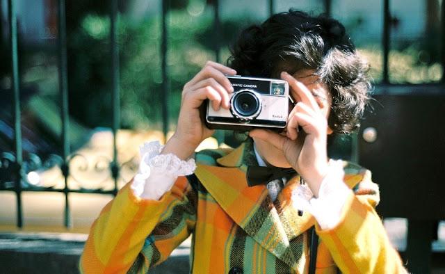 Boy clicks a photo, Playground Chronicles - Movie Still, A Still from Playground Chronicles, Directed by Brahim Fritah
