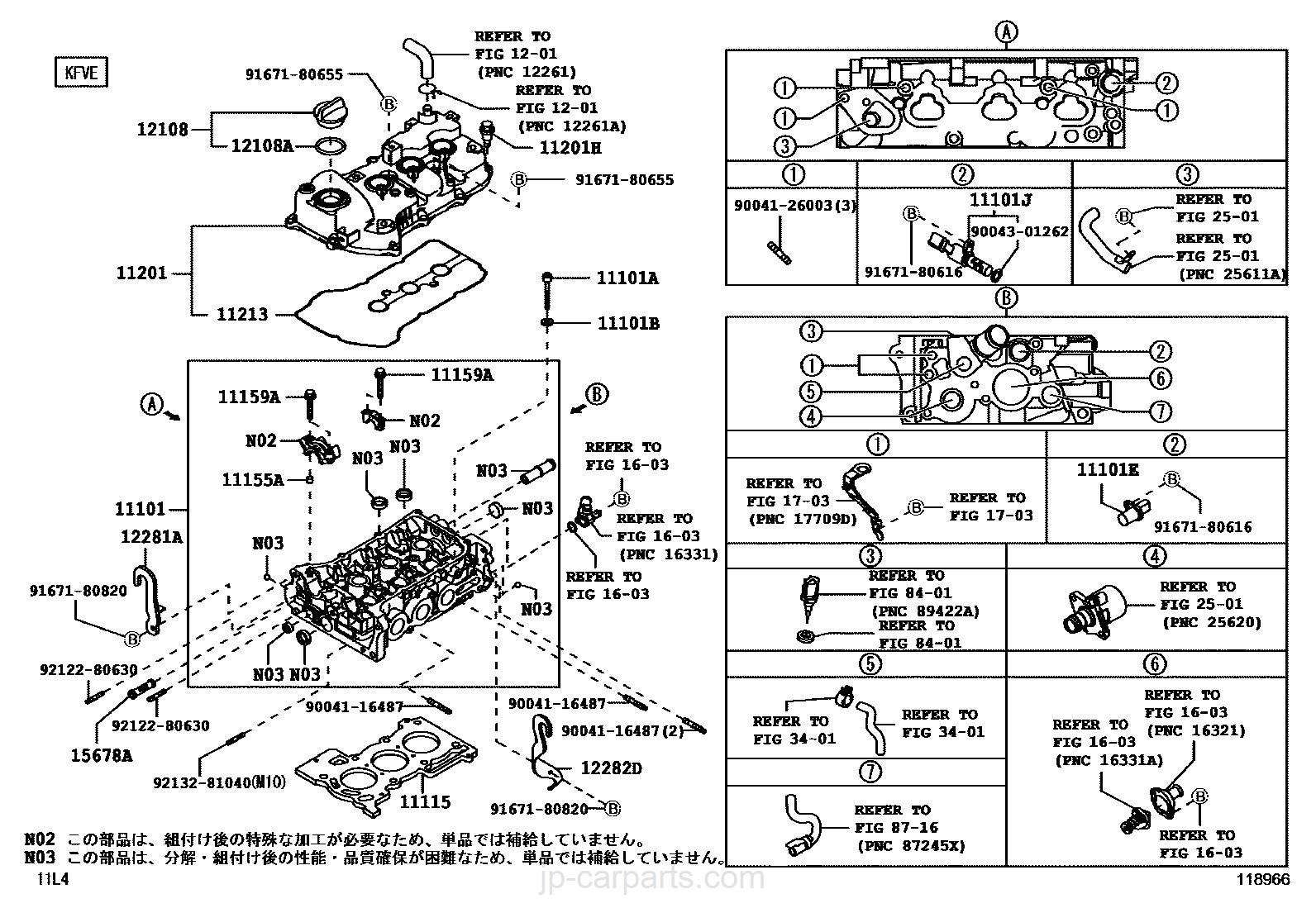 Daihatsu Sonica Engine Gasket