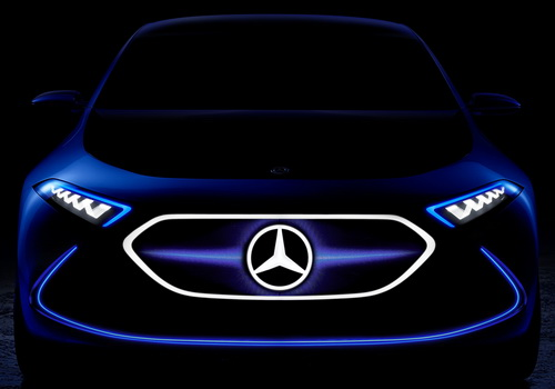 Tinuku Mercedes-Benz EQ A to the Frankfurt Motor Show 2017