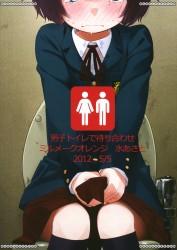 Danshi Toilet De Machiawase