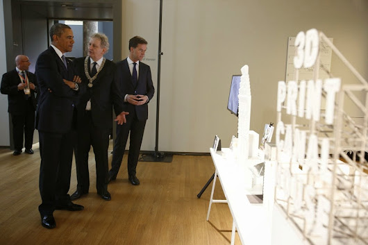 Obama bezoekt ook 3D Print Canal House
