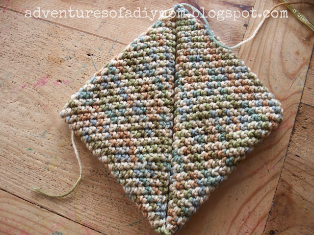 single crochet potholder pattern