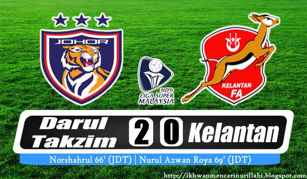 Live Streaming Johor Darul Takzim Vs Kelantan Mei Liga Super