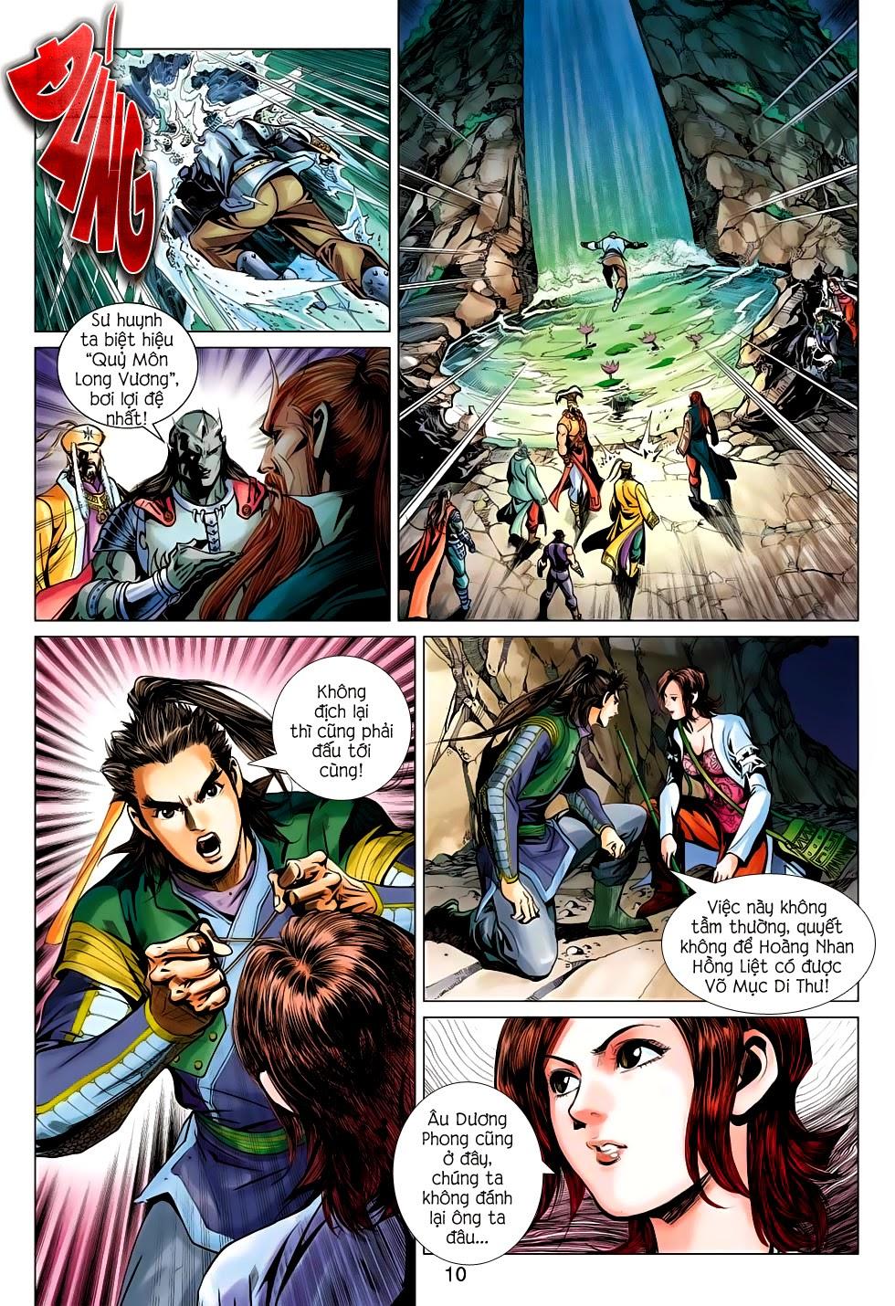 Anh Hùng Xạ Điêu anh hùng xạ đêu chap 56: tuyệt tình vô nghĩa lãnh huyết ác niệm trang 10