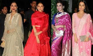 Mallika, Aditi, Jacqueline Fernandez and Shraddha Kapoor came with pure Indian look.